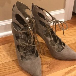 Steve Madden Suede Heels - Women's size 7